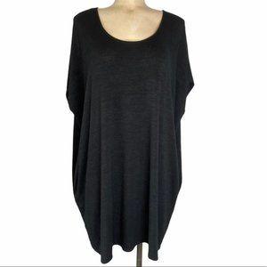 ARITZIA Wilfred Free Oversize Black Sweater Dress